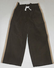 Gymboree Boy's Brown Mesh Lined Athletic Wind Pants Sizes 4 & 5
