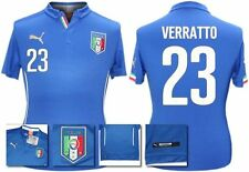 *14 / 16 - PUMA ; ITALY HOME SHIRT SS / VERRATTO 23 = KIDS & JUNIOR SIZE*