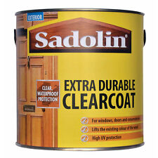 Sadolin Extra Durable Clearcoat - Available In Satin or Gloss Finishes - 1L
