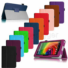 Slim Premium Leather Case Stand Cover for Toshiba Excite 7c AT7-B8 7-Inch Tablet