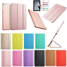 Hot Sale Leather Smart Cover Stand Case Gift For iPad Air 2 iPad 4 3 2 iPad Mini