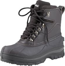 "Black Thermoblock Cold Weather Waterproof Winter 8"" Hiking Boots"