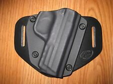 Smith & Wesson OWB Kydex/Leather Hybrid Holster with adjustable retention