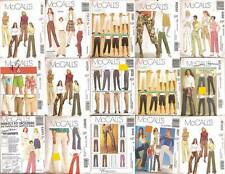 McCalls Sewing Pattern Bottoms Pants Slacks Trousers  Misses Size You Pick