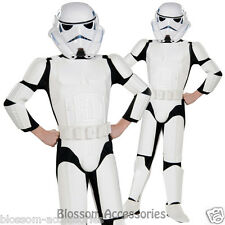 CK156 Deluxe Stormtrooper Star Wars Boys Book Week Kids Hero Halloween Costume