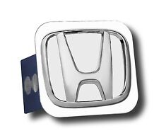 "Honda Logo on Stainless Steel 2"" Hitch Cover -  Select Style"