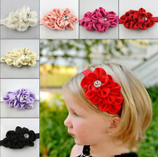 Lovely Cute Toddler Flower Headband Headwear Baby Kids Hair Accessories Band Bow