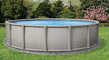 """NEW Premium Above Ground 54"""" Resin Pool with 8"""" Toprail - Round or Oval Sizes"""