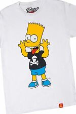 NEW Johnny Cupcakes & Bart Simpson Collaboration Tee T-shirt Men's S/M/L/XL