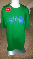 The North Face Mens Short Sleeve Half Dome Tee Arden Green NWT