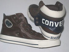 New CONVERSE CT PC2X MID Chocolate Leather Trainers