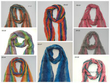 New Multi-Color beautiful fashion Women's Soft Wrinkle Long scarf wrap shawl