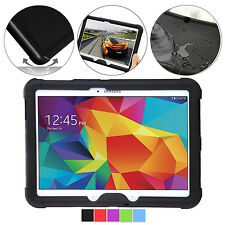 Poetic Turtle Skin Rugged Silicone Skin Case for Samsung Galaxy Tab 4 10.1