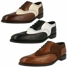 Mens Loake Classic Lace Up Brogue Shoes - Sloane
