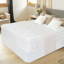 """Night Therapy 12"""" Spring Mattress & Steel Bed Frame KING QUEEN FULL TWIN SIZE"""