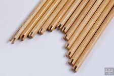12Pcs Handmade Wood Shafts Self Nock You Can DIY For Wood Arrow Spine 35-65