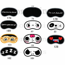Aid Travel Portable Silk Sleep Eye Mask Eye Shade Cover Eye Blindfold