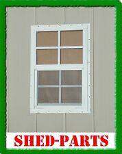 """18""""x27"""" SAFETY GLASS SHED PLAYHOUSE WINDOWS BARN DEER STAND CHICKEN COOP"""