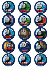 THOMAS THE TANK ENGINE FRIENDS V1 EDIBLE WAFER PAPER TOPPERS CUPCAKES CAKE POPS