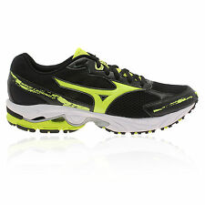 Mizuno Mens Wave Legend 2 Black Cushioned Running Sports Trainers Pumps Shoes