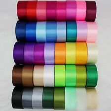 Hot Sale Satin Ribbon Wedding Craft Sewing Decorations Many Color Many Width