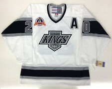 LUC ROBITAILLE LOS ANGELES KINGS 1993 STANLEY CUP VINTAGE CCM JERSEY