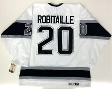 LUC ROBITAILLE LOS ANGELES KINGS VINTAGE CCM JERSEY 1988 - 1996 STYLE