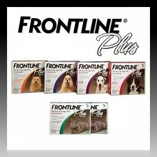 Merial Frontline Plus Dogs & Cats All Sizes & Weights 3 Pack New ✰Free Shipping✰