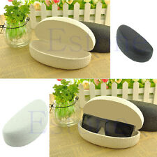 Oval Shape Resist Pressure Crush Printed Flower Sunglasses Box Jewelry Gift Case