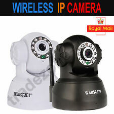 Wanscam Wireless WIFI CCTV Security Webcam Night Vision 2Audio - IP Camera