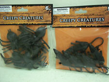 Spiders Rats prank gag Halloween party haunted house home decorations