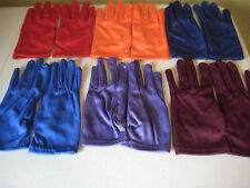 Girls Gloves Cotton Spandex Dance Dress Up Costumes Teams Many Colors! One Size