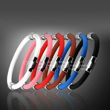 Power Titanium Ionic Plus Magnetic Bracelet Balance Band US Stock Free Shipping