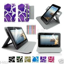 "Draft Leather Case Cover+Gift For 7"" HP Slate 7 Extreme/Slate 7 HD Tablet GB9"