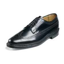 Florsheim Mens Imperial Shoes Kenmoor Wing Tip calfskin Leather Black 17109 Wide
