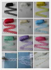 Wow! Heart-shaped lace ribbon (various colors) 10-100 yards free shipping