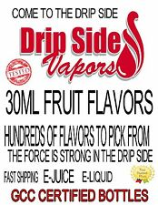 VAPE FIRST 55 FRUIT FLAVORS TO PIC FROM MOD & HOOKAH  PREMIUM E-LIQUID E-JUICE