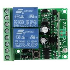 315MHz/433mhz DC 12V RF Wireless Remote Control Receiver Relay Module Switch ASK
