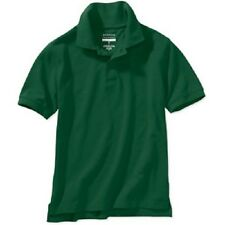 George Boys or Girls Short Sleeve Polo Shirt, Size XS 4/5, Pale Yellow or Green