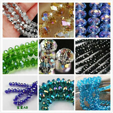 Beautiful !!!!Wholesale New 12 Colors Swarovski Crystal Loose Beads 4x6mm /6x8mm