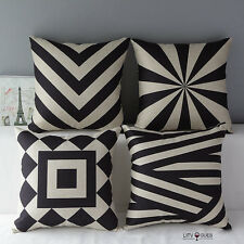 Modern Home Decorative Vintage Pillow Covers Cushion Throw Pillow Shell 16*16