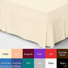 MASSIVE SALE ON BOX VALANCE BED SHEETS AND FITTED BED SHEETS!! LAST FEW DAYS !