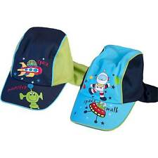 Baby Boys Space Monsters Printed Legionnaires Summer Sun Hat Blue Navy 2-6yrs
