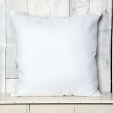 65 x 65cm Square Euro Continental 100% Cotton Satin Stripe Bounce Back Pillow