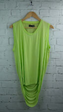 BNWT Religion Cohorts Drape Back top in Lime Green