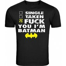 NEW Tshirt F**K YOU IM BATMAN tee FUNNY SHIRT