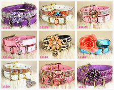 Luxurious jewelry dog collar cat collar for small dog us seller