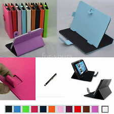 """Colorful Magic PU Leather Case+Stylus For 7"""" HP 7 plus 1301US Android Tablet PC"""