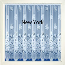 White Net Curtain Panels for windows or door lots of sizes Design NEW YORK