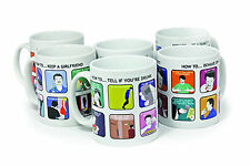 'How To...For The Inept®'- every day tips for every man 6 Range of Humorous Mugs